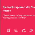 Image for the Tweet beginning: Vorbildeffekt und Marktimpuls: Öffentliche Institutionen