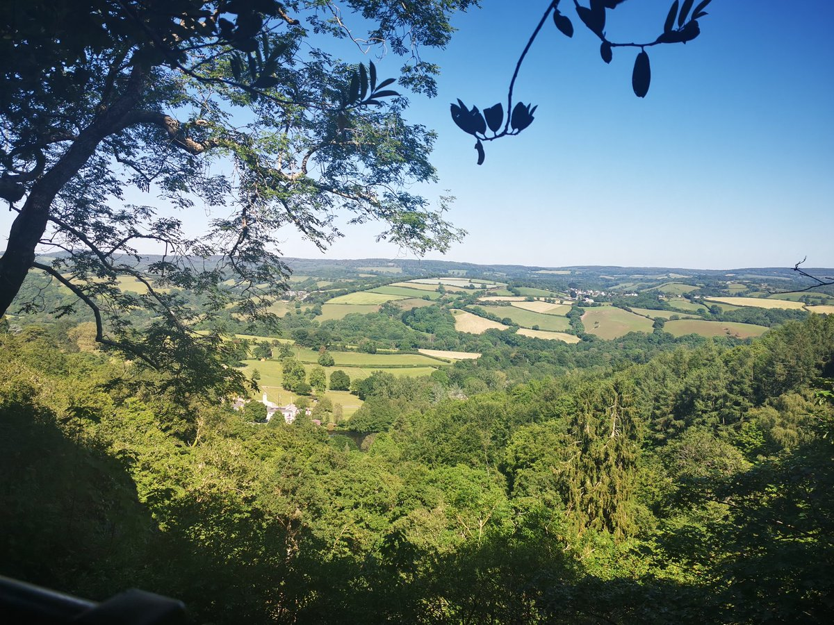 The view from the top of Canonteign Falls, on the edge of Dartmoor, amazes me every time. It's the highest waterfall in England, so you have a fairly steep climb after a 20 mile cycle from Exeter.  The return cycle is really brutal, but it's worth it everytime though.  #Devon https://t.co/wTFqRm4cii