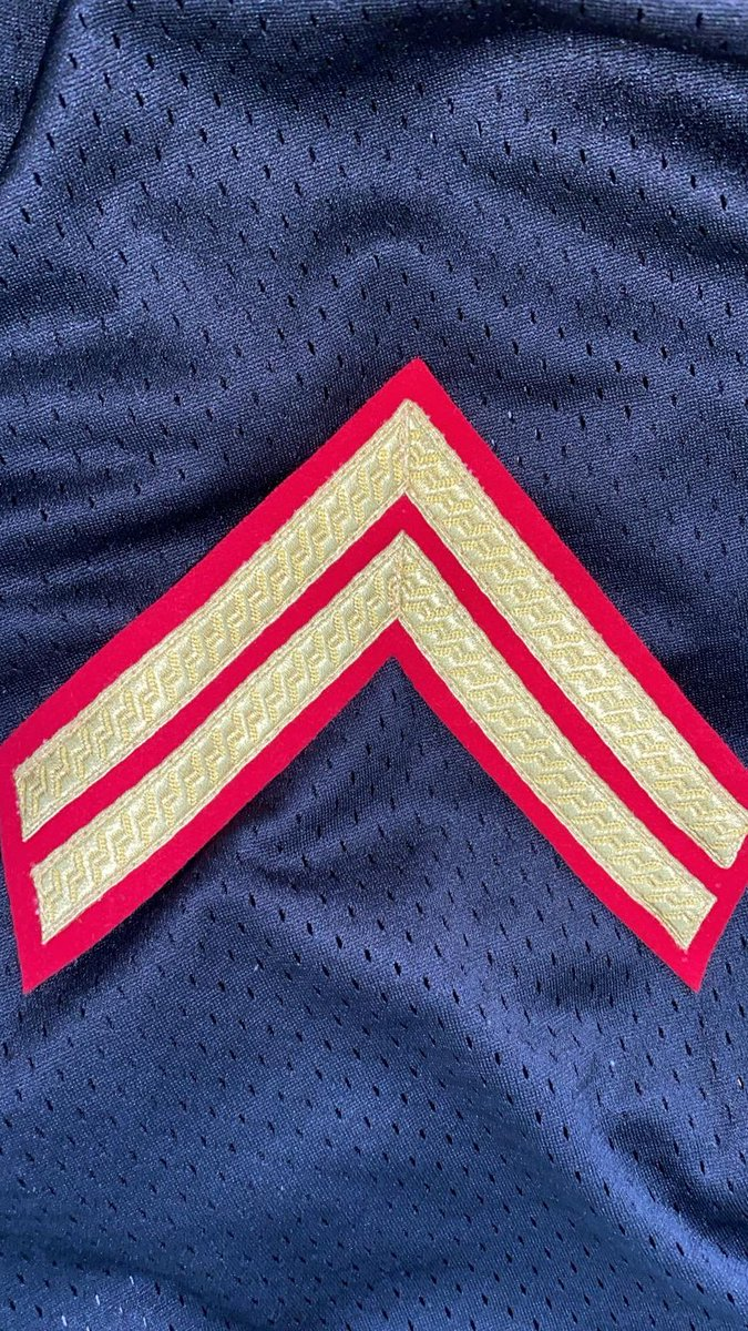 I am very proud to announce that I've been awarded TWO good conduct stripes and I can put them onto my blues ready for the Armed Forces day.   I worked really really hard for these and I hope to be adding my LCpl soon.  @BrigMikeTanner @SasDuffin       @JohnNicholRAF @LT_CCF_SBr https://t.co/z6odrLDLlE