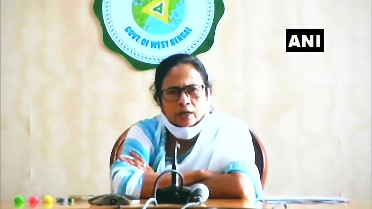 What happened in Uttar Pradesh today? A reporter of ABP News has been murdered. I condemend this: West Bengal CM Mamata Banerjee https://t.co/sjqNnDhsfq