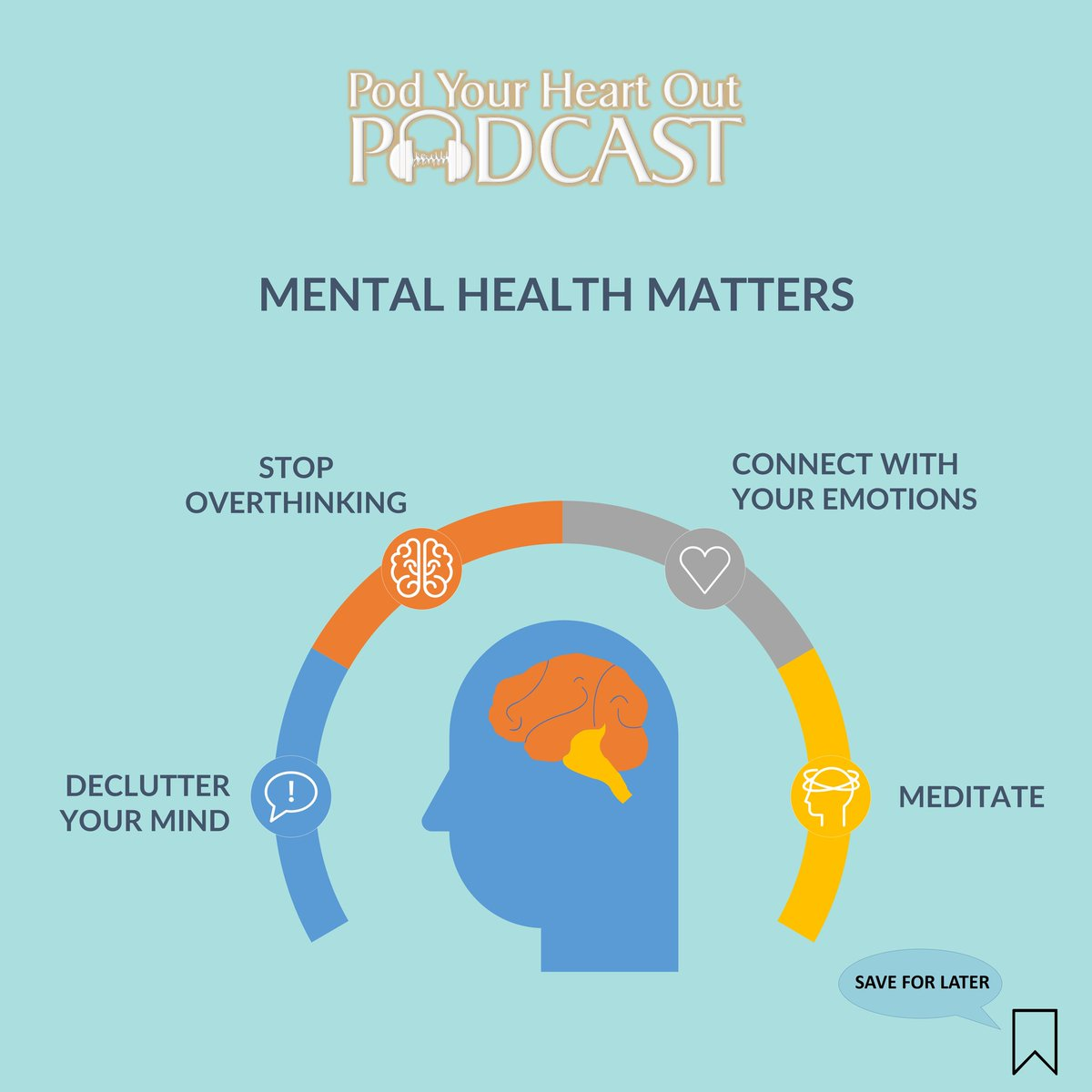 #PodYourHeartOut podcast tips for keeping your mental health in check. https://t.co/z4B1kQEnAx