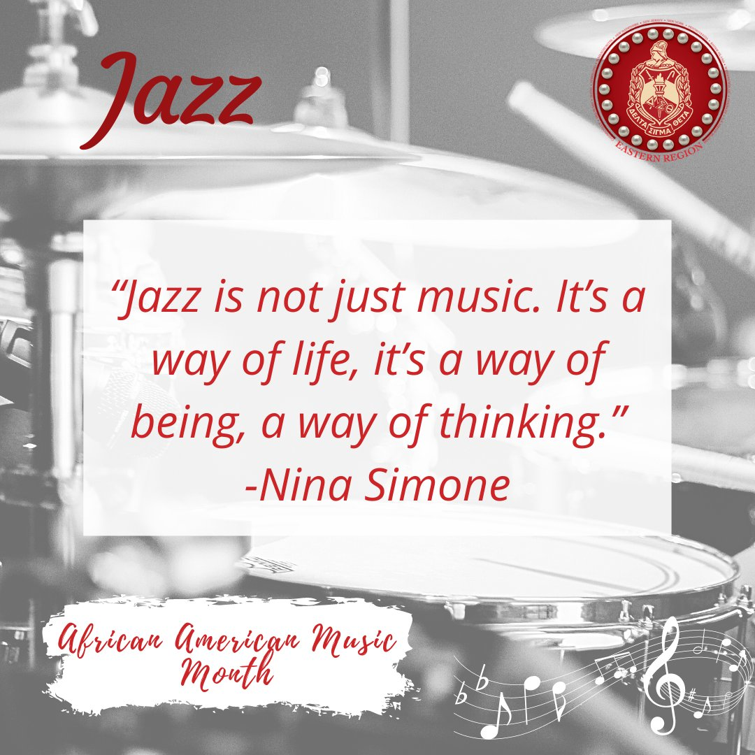 Continuing our celebration of African-American Music Appreciation Month, this week we spotlight the genre of jazz. Notable jazz artists  of Delta Sigma Theta include Lena Horne,  Leslie Uggams and Nancy Wilson. #ERcelebratesBlackMusicMonth #AfricanAmericanMusicMonth2021 https://t.co/bc53eTU2jQ
