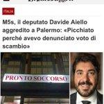 Image for the Tweet beginning: Ieri sera il collega deputato