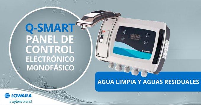 #Novedad 🚨 Ahora puedes reducir #stock con Q-Smart, el cuadro de control eléctrico más versátil:  👍 Ideal para uso en aplicaciones de #AguaLimpia y ...