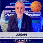 Image for the Tweet beginning: 🏀 Guillem Boscana, presidente de