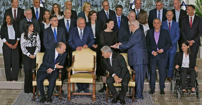 Israel's Frail New Coalition Gets a Quick First Test Photo