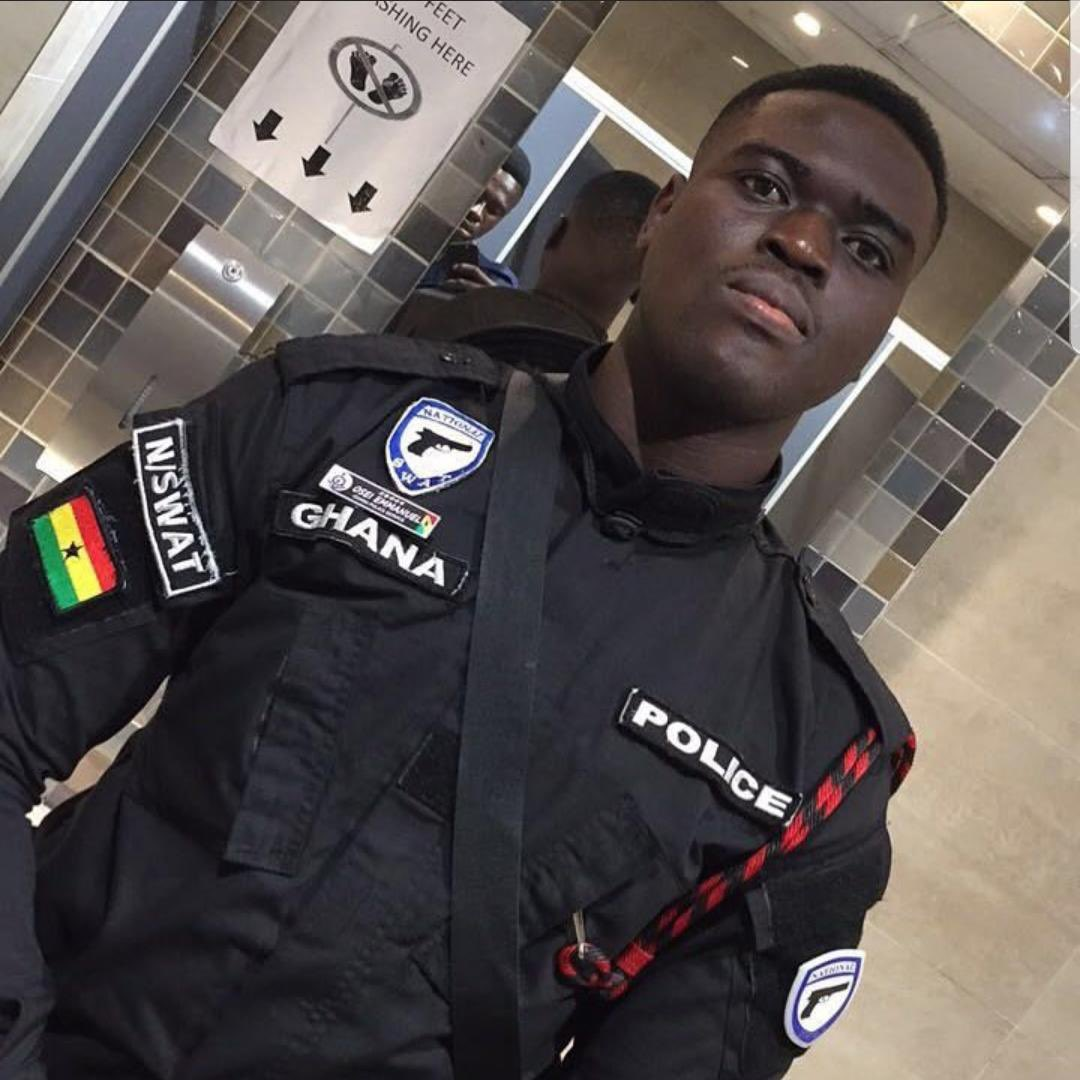 police officer who was shot dead in a bullion van in James Town
