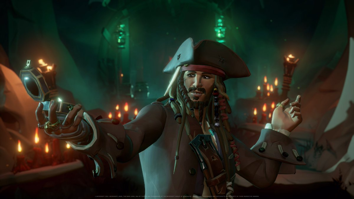 SEA OF THIEVES x PIRATES OF THE CARRIBEAN https://t.co/nCEAJu88cA