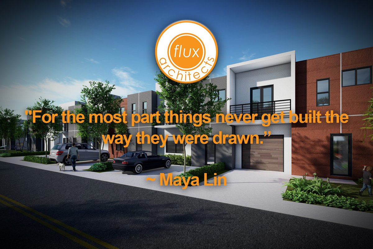 Quote of the Day... ~Maya Lin  #fluxarchitects #quoteoftheday #quotes #mayalin #architect #archdigest #archilovers #architizer #archinect #moderndesign #townhouse https://t.co/ZtQ5essrfU