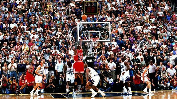 23 years since this iconic image 🐐 📸   What is the best sports image of all time? https://t.co/7q2VT3MpJW