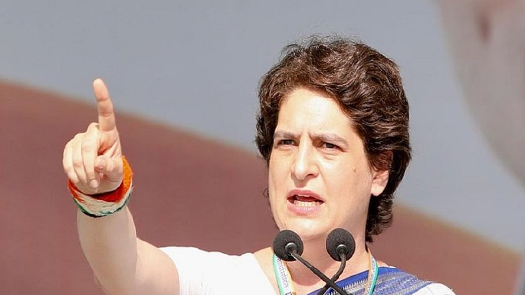 Misuse of donations by devotees  pertaining to land  purchased by the #RamJanmabhoomiTrust in #Ayodhya, #Congress general secretary #PriyankaGandhi  ji on Monday said misuse of donations by devotees is a sin and an insult to their faith https://t.co/Kr4g42ub5Z