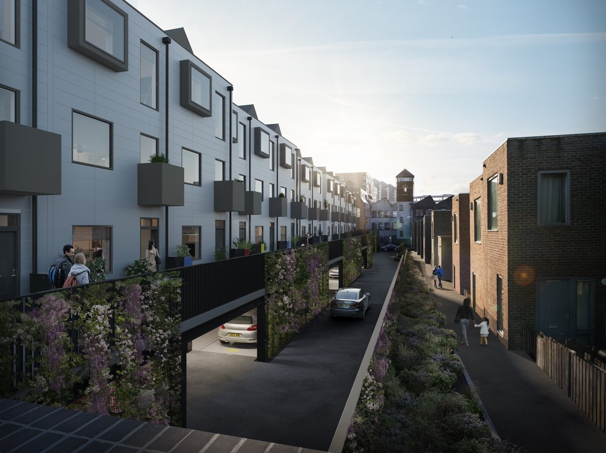 Stubbs Mews waterfront #TownHouse homes in #NewIslington are now available to buy. There are 17 left. Call 0161 850 0768 or click the link in our bio to find out more 🏡 https://t.co/KnCyJSs5m7