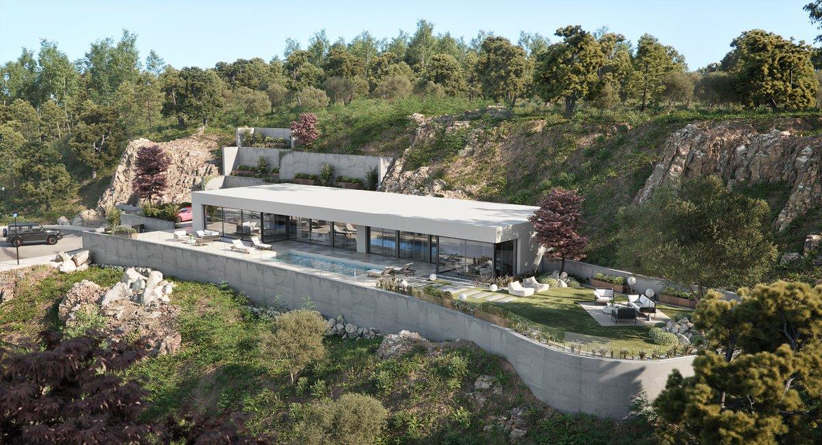 'The Cliff Villa' by G3D Design Studio. 👁️  https://t.co/WL1qrRgEEH  #quixel #megascans #3dsmax #coronarenderer #archviz #photorealism https://t.co/IvhHuyWlUL