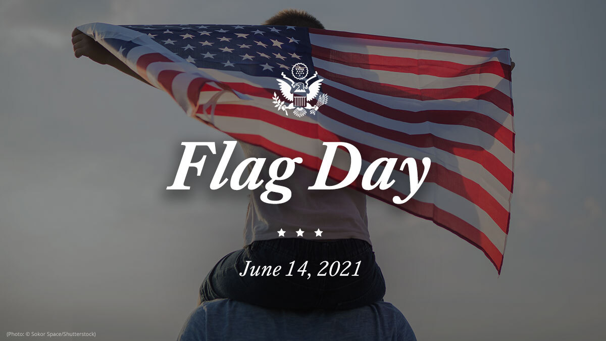 For generations, the American flag has served as an emblem of our nation's great experiment in self-governance and the promise democracy holds. On #FlagDay, we pledge our allegiance to this banner and celebrate the hope it inspires in the American people -- and around the world. https://t.co/bQsjJz3jL9