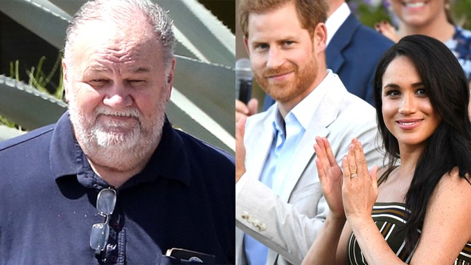 Meghan Markles estranged father alleges Oprah Winfrey is profiting off her and weakened Prince Harry Photo
