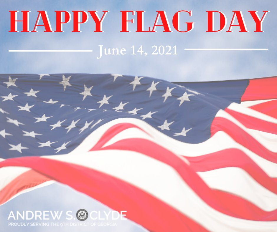 In 1777, the stars and stripes were adopted as the United States' national flag. 244 years later, the flag still serves as a symbol of freedom and democracy. I am proud to have served this great nation, and I am proud to be an American. Today and every day. #flagday https://t.co/pKXyvfKD0j