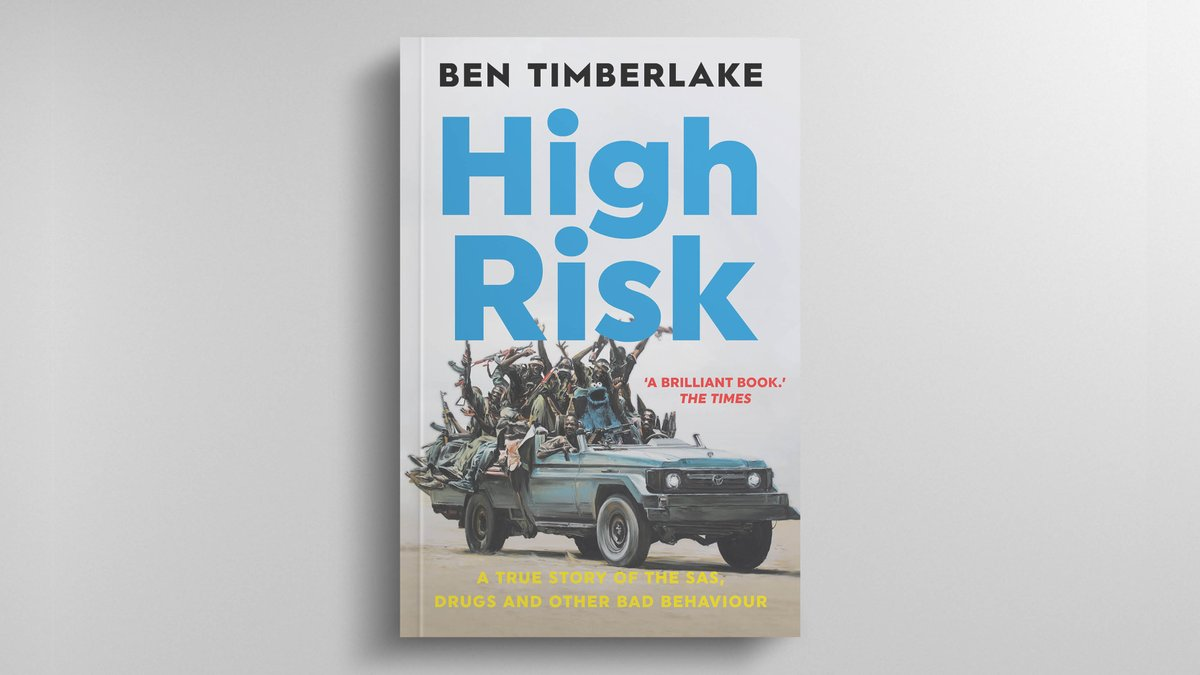 ⭐️'Funny, chaotic but unexpectedly profound' —  @TimesMagazine⭐️  An archaeologist, Special Forces soldier, combat medic and drug addict, Ben Timberlake has seen it all. #HighRisk is a whirlwind tour of everything from #IraqWar to hard drugs.  ➡️ https://t.co/6lfbKN5aY5 https://t.co/4t8WokRplc