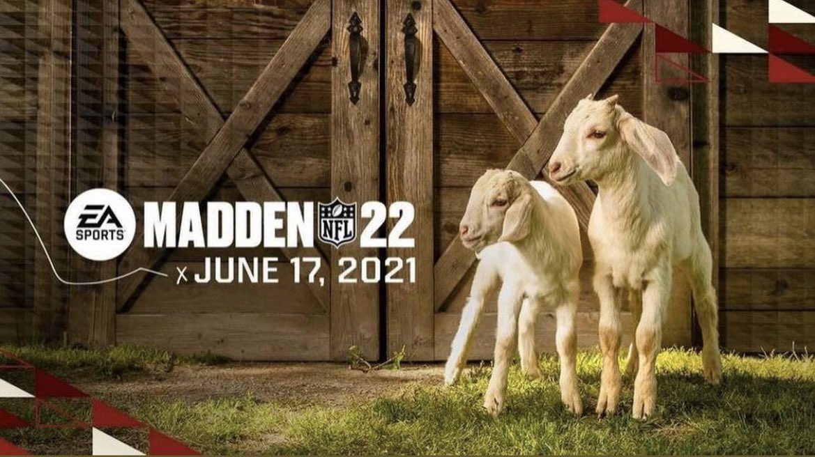 Two 🐐's...  Who's gonna grace the cover of Madden 22? https://t.co/pCDCjcuPif