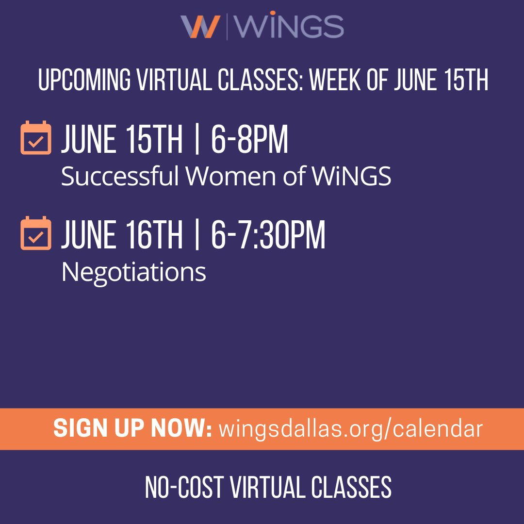 test Twitter Media - Join us this week to meet WiNGS entrepreneurs, learn about the journey to success and gain some skills in leveling up through negotiation! Register today at https://t.co/VaAFMOs4HS #levelup #careerclasses #likemindedwomen #bosswomen #womenentrepreneur https://t.co/Yc5kuLCEUR