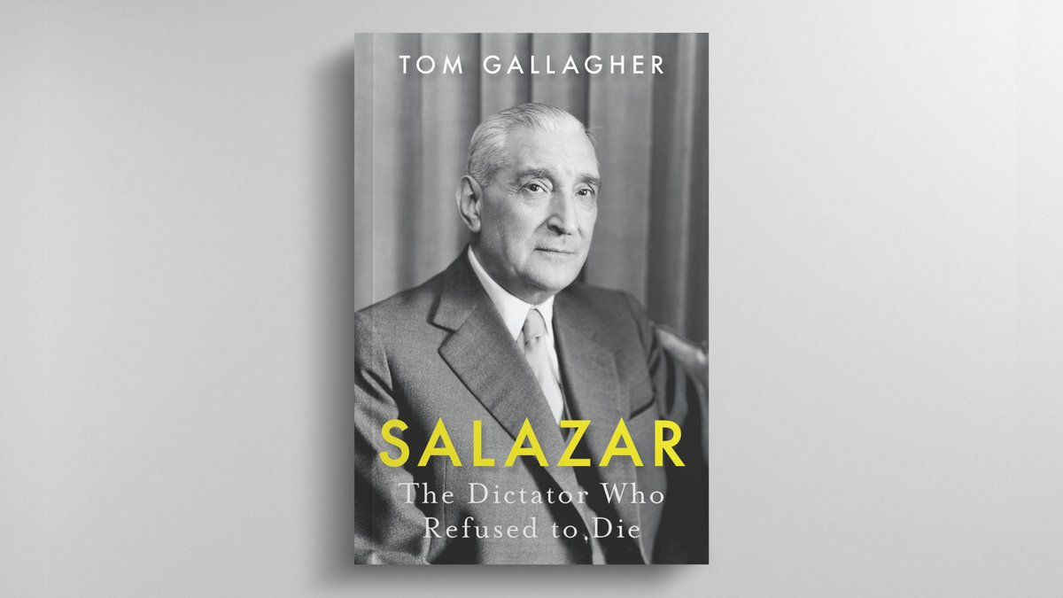 📰💬'The humane and open-minded story of a man whose legacy has been erased but who could well be regarded as the most consequential minor statesman of the 20th century.' — @WSJ    Buy #Salazar by @cultfree54➡️ https://t.co/sJbylEuT3x https://t.co/9XIAjO7jDr