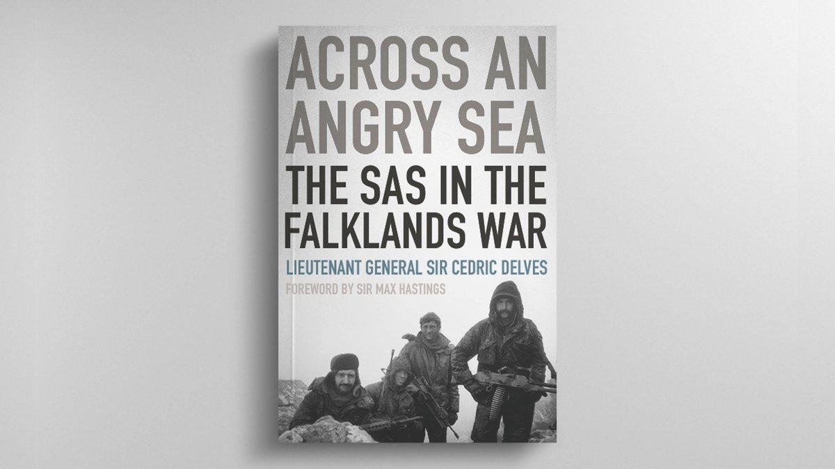 Now in paperback 💫  'Frank and vivid.' — @NewStatesman  'Across an Angry Sea' is a chronicle of daring, skill and steadfastness among a tight-knit band of brothers. An SAS commander's unflinchingly honest account of the #Falklands War.  ➡️ https://t.co/WvYKolBN9o https://t.co/EJaYlMZnih