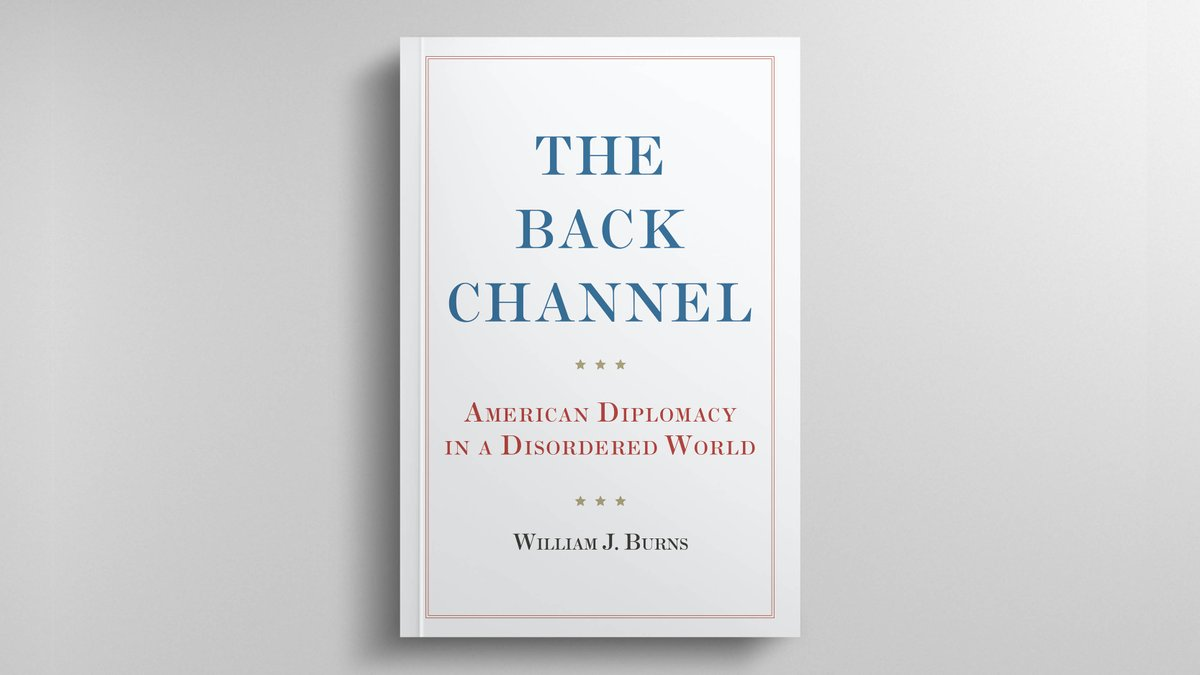 🌟A @NewStatesman Book of the Year🌟  'The Back Channel' is a powerful case for the enduring value of diplomacy from the Director of the #CIA and one of America's most distinguished statesmen.  Buy here ➡️ https://t.co/87oyyvi0Av https://t.co/Sht6gFbNN9