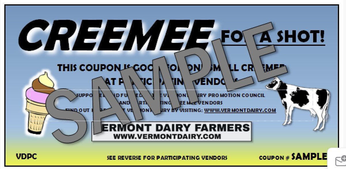 Most EMS vaccine clinics will still have the creemee coupons over the next week.