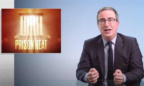 John Oliver on heat in US prisons: 'This is a deadly situation' Photo