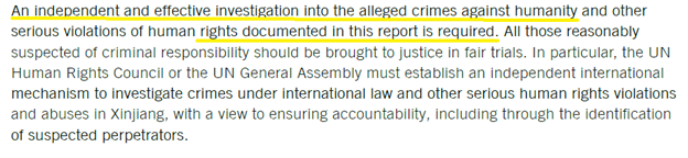 Amnesty admits on Page 13 that their report is not a proper investigation, but a documentation of unproved allegations. Indeed, the report only includes rehashes of past articles and quotes from anonymous interviewees, without giving concrete statistics to support their claims. https://t.co/laACx1dK8T