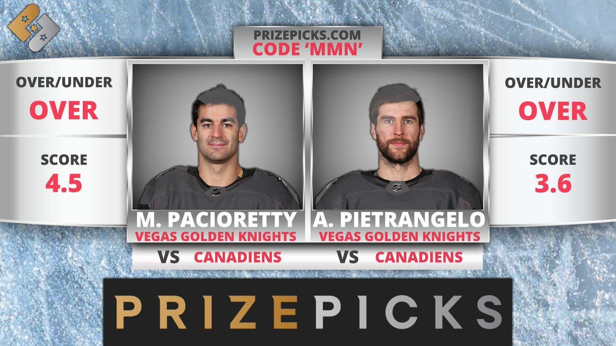 "NHL DFS Picks, Props & Bets Monday 6/14 c/o @chrismeaney  #StanleyCup   WATCH: https://t.co/2SWBgosIuh  Apple: https://t.co/CF3hGn9jKD Stitcher: https://t.co/d7Z6TcNZHa Spotify: https://t.co/L3nMEX91tj  Get a deposit match @PrizePicks (https://t.co/6IifjIyBtb) using code ""MMN"" https://t.co/tqlbBBQFHs"
