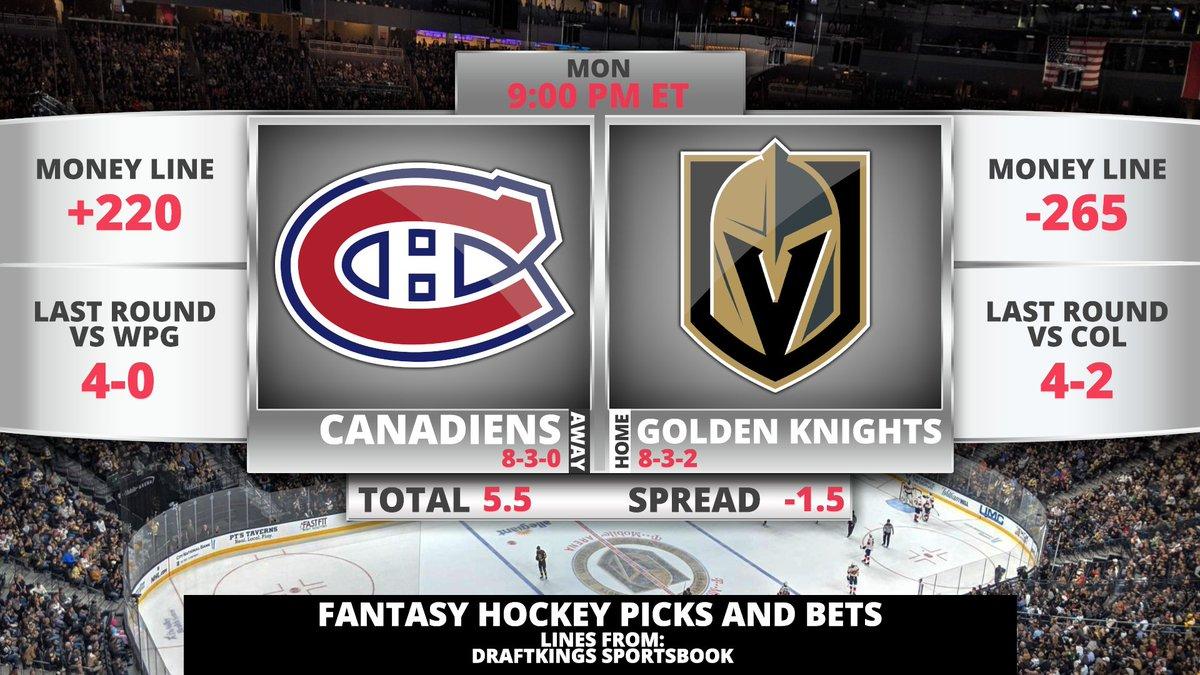 "NHL DFS Picks, Props & Bets Monday 6/14 c/o @chrismeaney  #StanleyCup   WATCH: https://t.co/2SWBgoKjlP  Apple: https://t.co/CF3hGmRIm3 Stitcher: https://t.co/d7Z6TcwoiA Spotify: https://t.co/L3nMEWRq4J  Get a deposit match @PrizePicks (https://t.co/6IifjIQckJ) using code ""MMN"" https://t.co/xZWth3vTQs"