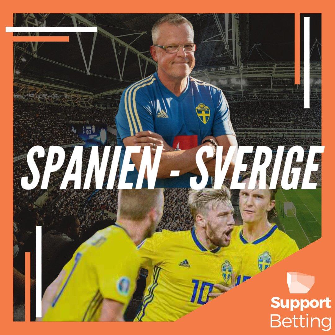 FRAMÅT! Endast tre timmar kvar till avspark i matchen mellan Spanien och Sverige. Vad tror ni slutresultatet blir? Matchen sänds på SVT och SVT-play.   #fotbollsem #em #fotbollsem2021 #italien #swemnt #sverige #england #spanien #kannapå #danmark #christianeriksen #eriksen https://t.co/3Pjl1rpxZb