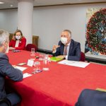 Image for the Tweet beginning: La ministra Nadia Calviño manifiesta