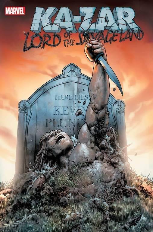 "Ka-Zar will return from the dead in Marvel's ""Ka-Zar: Lord of the Savage Land"" in September. https://t.co/u94HwX62mf https://t.co/nrX71G4gvf"
