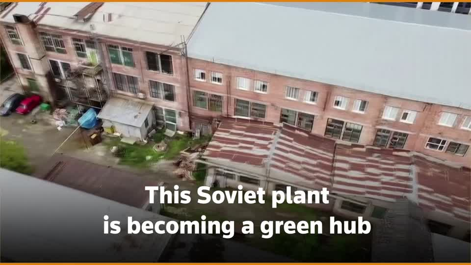 ICYMI: Entrepreneurs in western Ukraine are turning a huge Soviet-era manufacturing plant into a hub for education, business and art which they hope will drive development https://t.co/m8rj0y3P7A https://t.co/8KweWytdXO