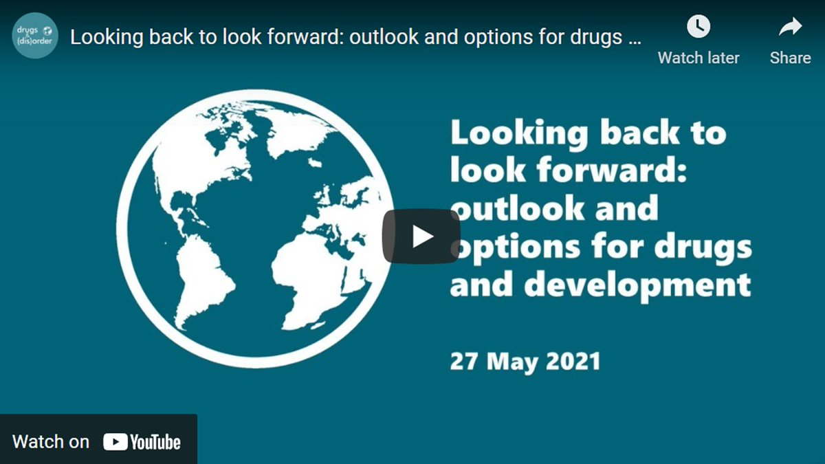 🎬 Looking back to look forward: outlook and options for drugs and development. Watch the discussion here: https://t.co/TVJyOlCwbN  @VFelbabBrown @Orzala @AREUafghanistan https://t.co/HY6dYO9ATn
