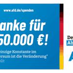 Image for the Tweet beginning: Fantastisch! Schon eine viertel Million