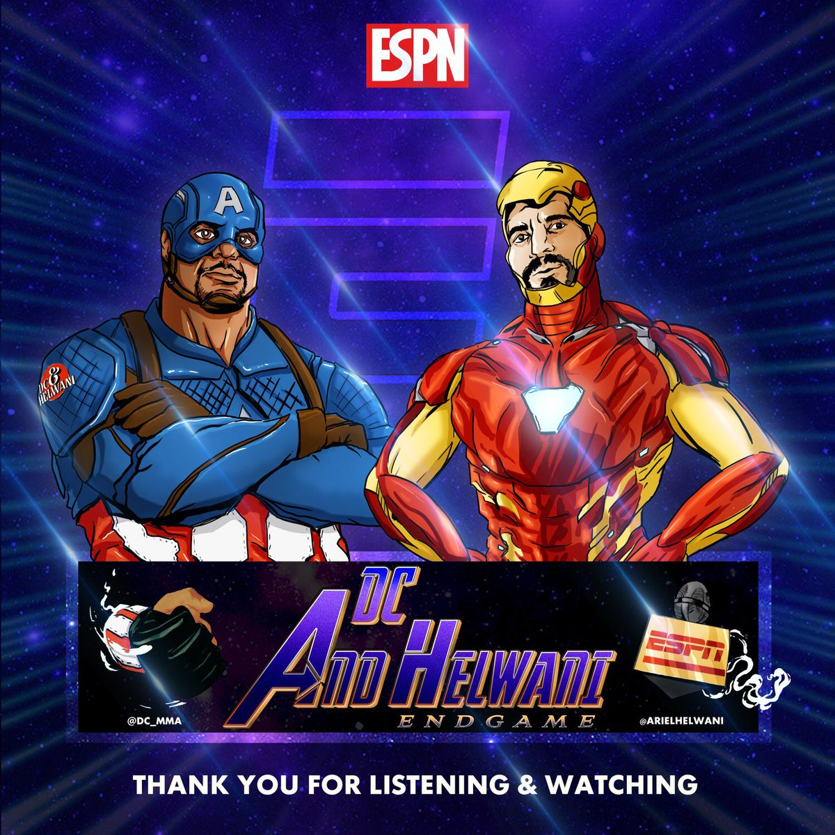about to do our last episode of the DC and Helwani. It's been so much fun doing the show,we started right in the middle of the pandemic and we end right as the world starts to open back up. I could not have done this with a better person than my guy Ariel. https://t.co/AzdVVptcnD https://t.co/kBqcyQoYi2