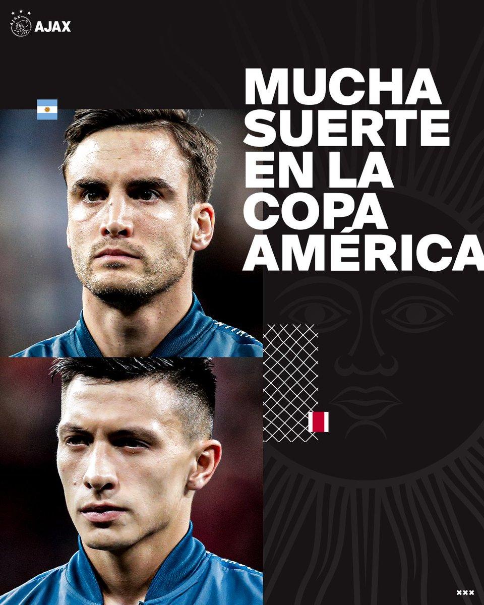 test Twitter Media - Make Argentina proud, @Nico_Taglia & @LisandrMartinez! 🇦🇷♥️  #CopaAmérica https://t.co/jK4rLHN2xt