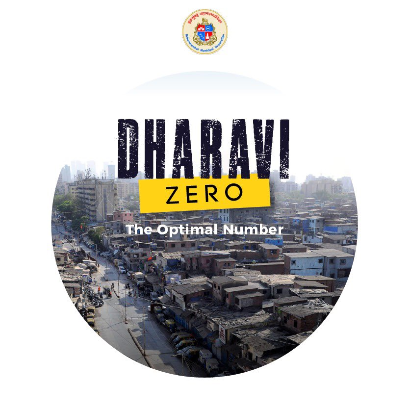 Yes,  Dharavi Did It Again   Having achieved the #MissionZero milestone during first wave, Dharavi, recorded zero new +ve cases for the first time in second wave too - with zero negligence to corrective measures by @mybmcWardGN medical fraternity & several superheroes in disguise https://t.co/IqzK0HVJ1p