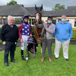 Delighted that Arranmore won today @CarlisleRaces for Mr Gallagher and Mr Lynch! Well done all!