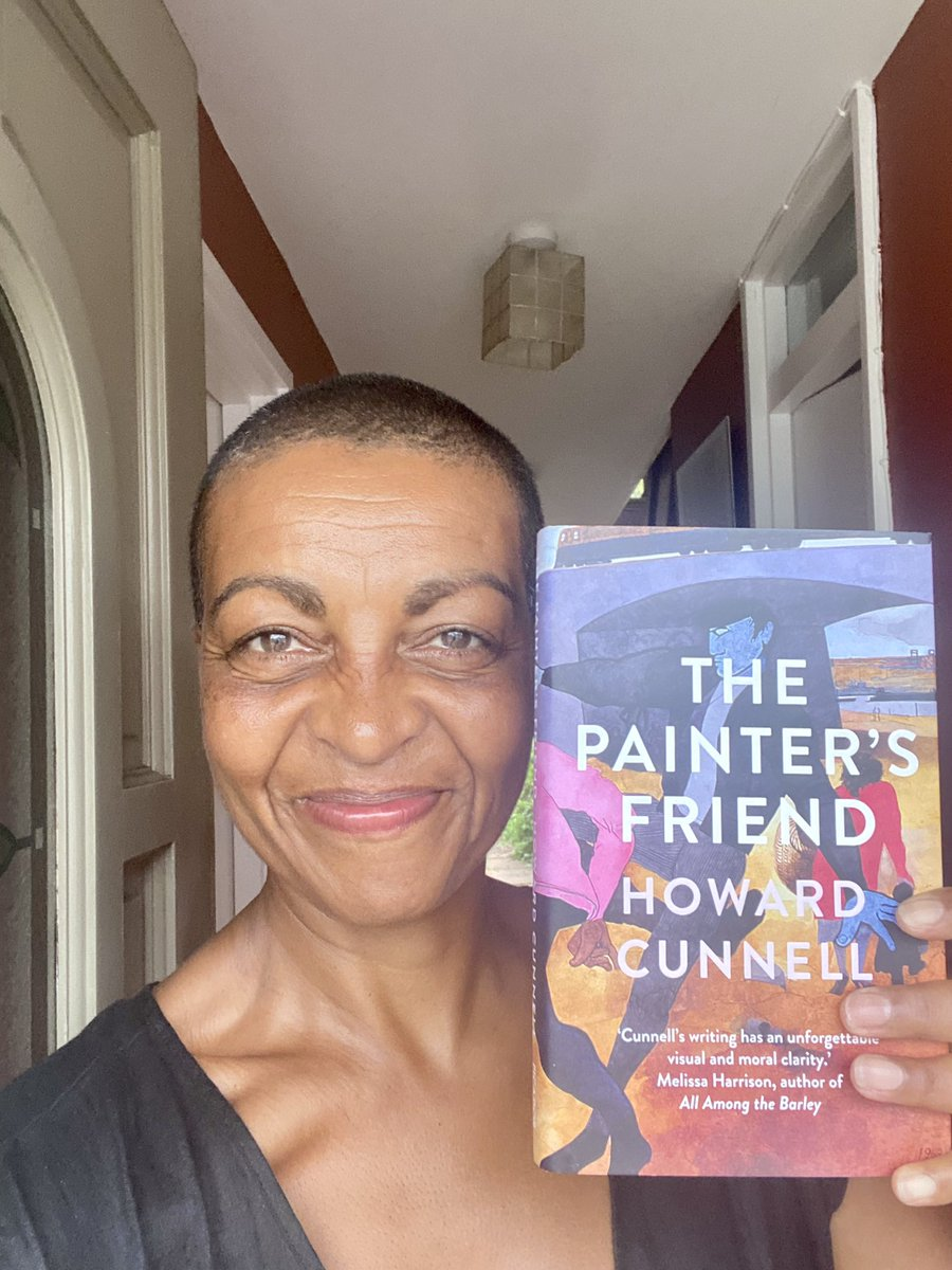 Very excited! Husband's terrific new novel The Painter's Friend finally in my eager palm!! Published By Picador - out July 8th❤️💜❤️ https://t.co/illFKgdEMj