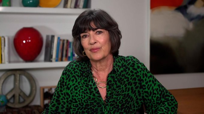 Christiane Amanpour shares cancer diagnosis with viewers Photo