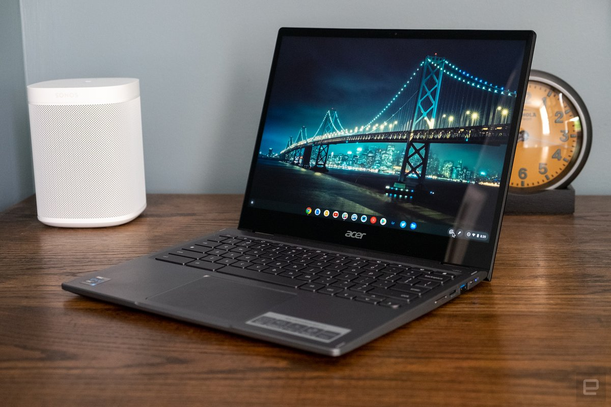 Acer Chromebook Spin 713 review: It's all about the display