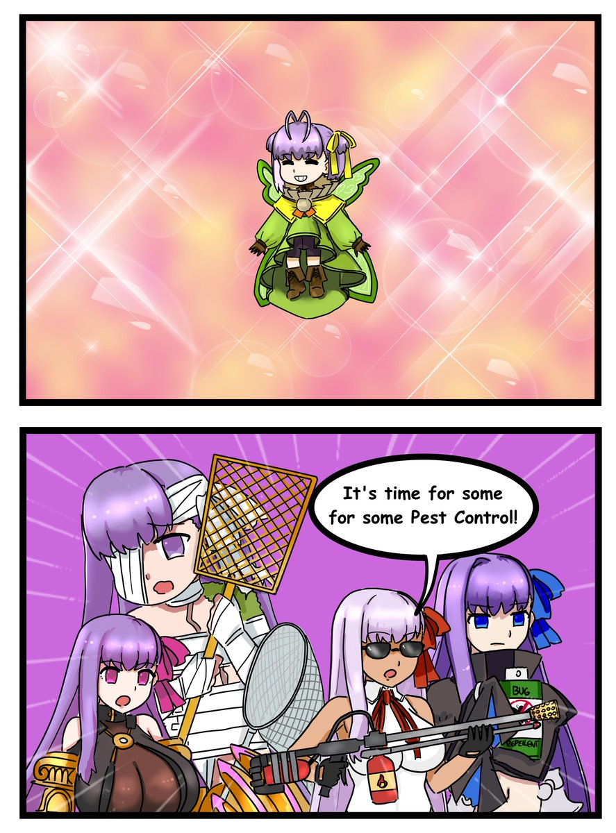An enemy to unite BB and her unruly daughters! #FGO https://t.co/2EhBn8FNq2 https://t.co/LnsvKIqxDX