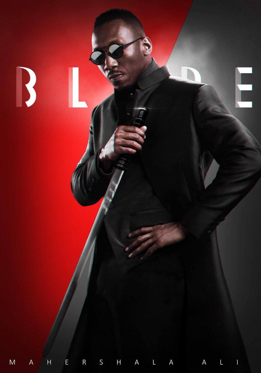 RT @luanoliveira10_: Blade🕶⚔⚔ . . #Blade #MahershalaAli #Marvel #MarvelStudios https://t.co/TuzlEBLF0e