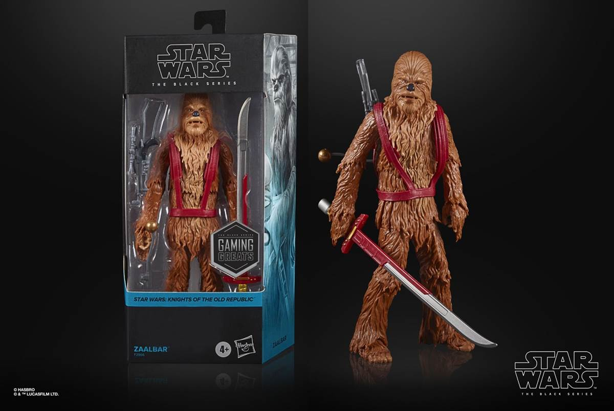 """.@Hasbro has announced a new six-inch action figure of Zaalbar the Wookiee from """"#StarWars: #KnightsOfTheOldRepublic"""" as part of its """"Gaming Greats"""" line: https://t.co/VMljHz4jXD https://t.co/AGvWmMYI8d"""