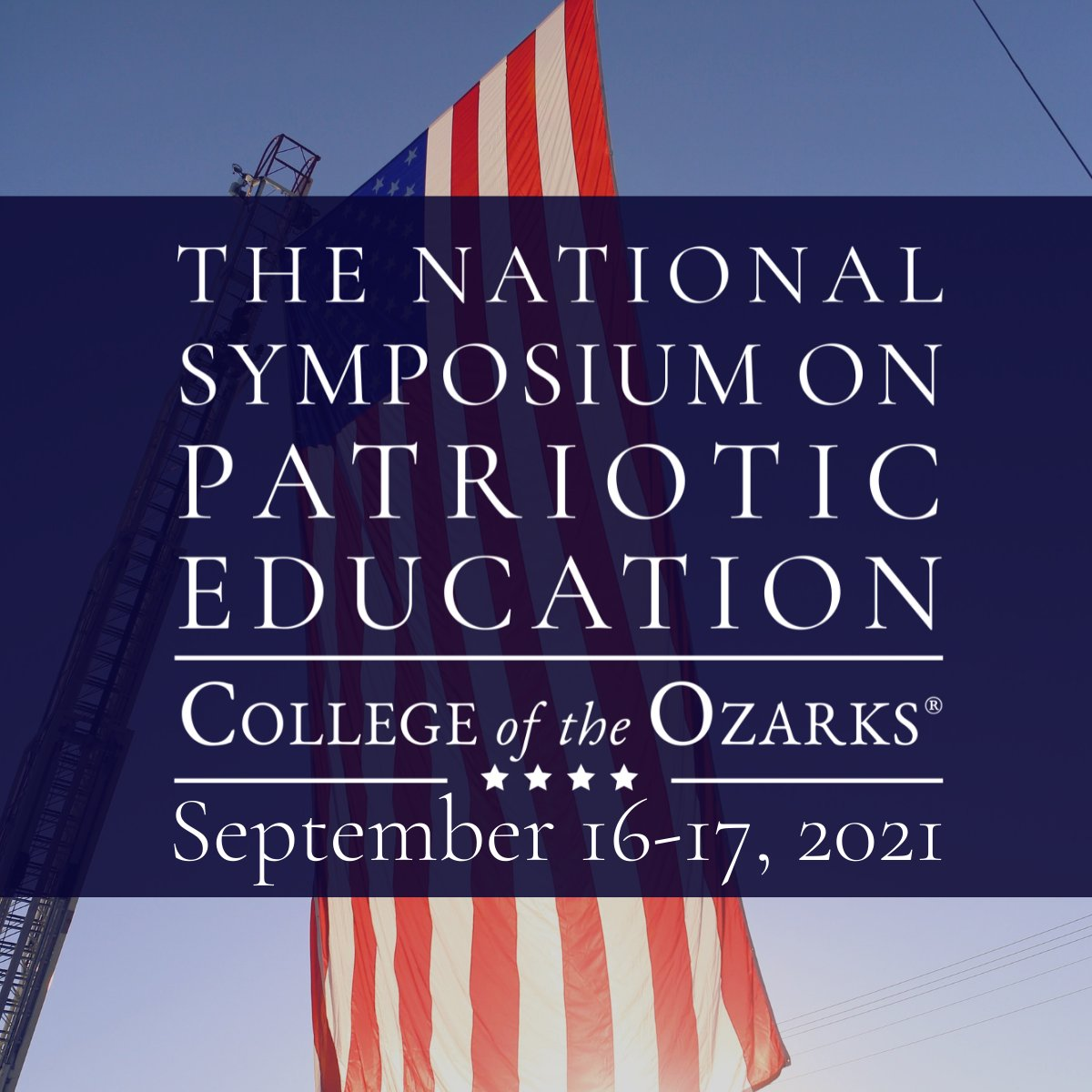 Happy Constitution Day, America! 🇺🇸  @KarenPence and I are looking forward to joining the National Symposium on Patriotic Education at @CofOHardWorkU Today!
