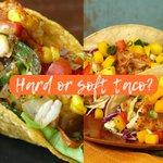 Image for the Tweet beginning: Hard or Soft Taco?  #opportunitysknaaking #ThisOrThat