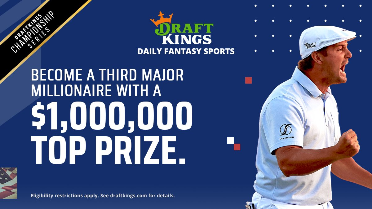 Take your shot at the $1,000,000 top prize for golf's third major.   Draft now: https://t.co/aF6cMIFf1l https://t.co/11kc3uhwQq